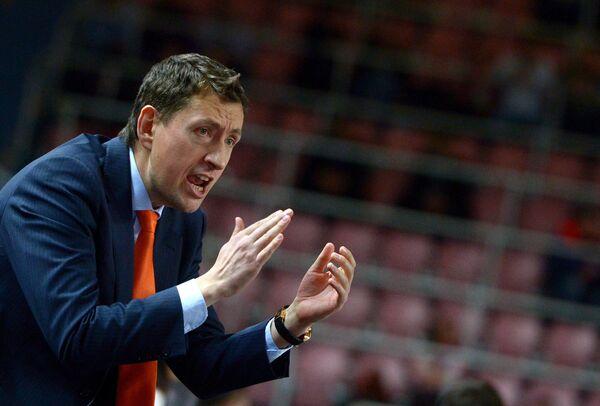 Директор баскетбольного клуба УГМК Максим Рябков