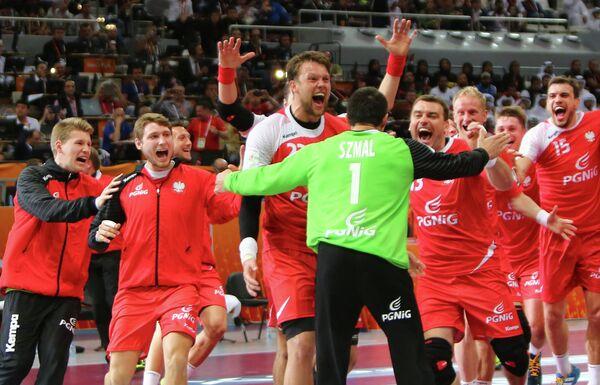 Гандболисты сборной Польши