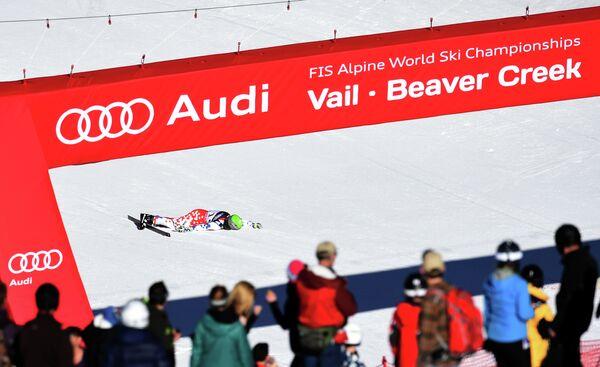 Чешский горнолыжник Ондржей Банк