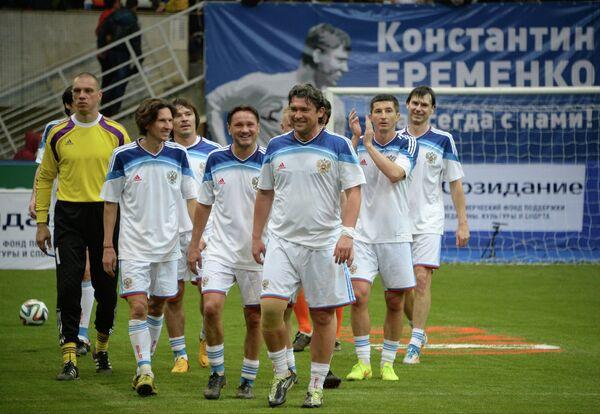 Игроки команды России на Кубке легенд -2015