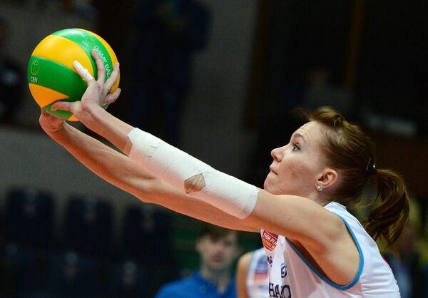Игрок ЖВК Динамо Анастасия Маркова