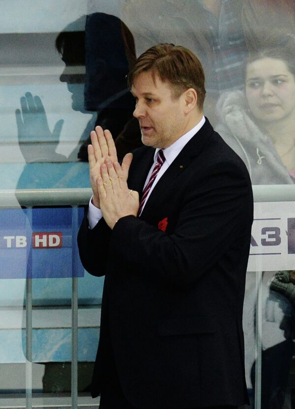 Главный тренер Авангарда Раймо Сумманен