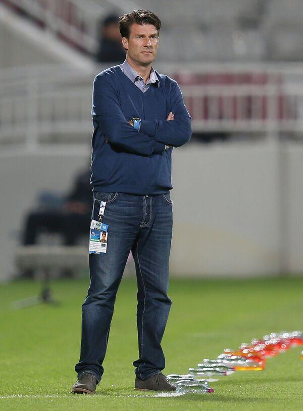 Полузащитник мадридского Реала 90-х годов Микаэль Лаудруп.
