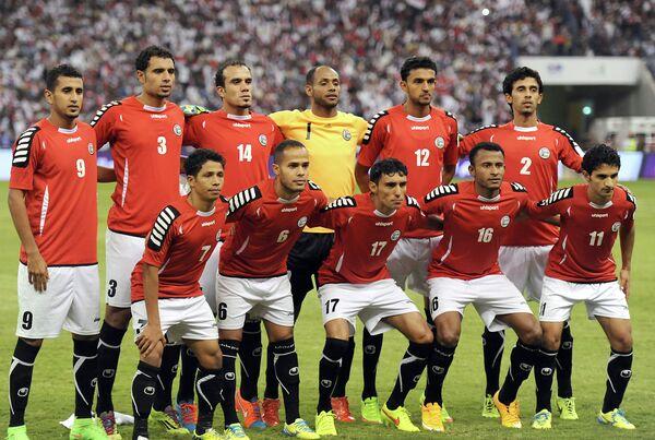Футболисты сборной Йемена