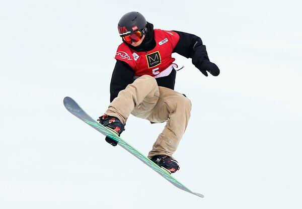 Финский сноубордист Янне Корпи