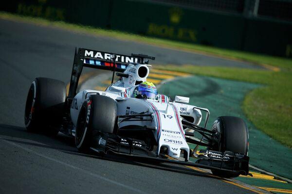 Пилот Уильямса Фелипе Масса во время Гран-при Австралии