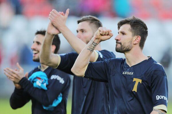 Игроки Торпедо после матча