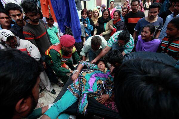 Теракт в христианском районе Лахора (Пакистан). 15 марта 2015 года