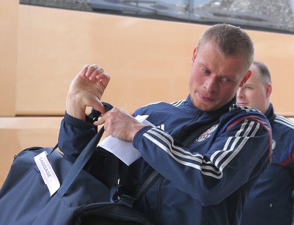 Защитник сборной России по футболу Евгений Макеев