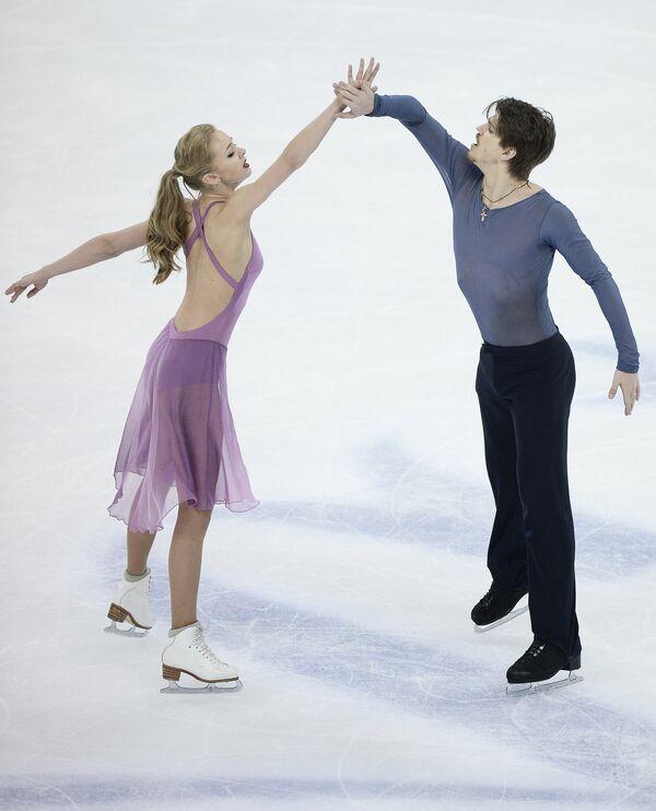 Александра Степанова и Иван Букин (Россия)