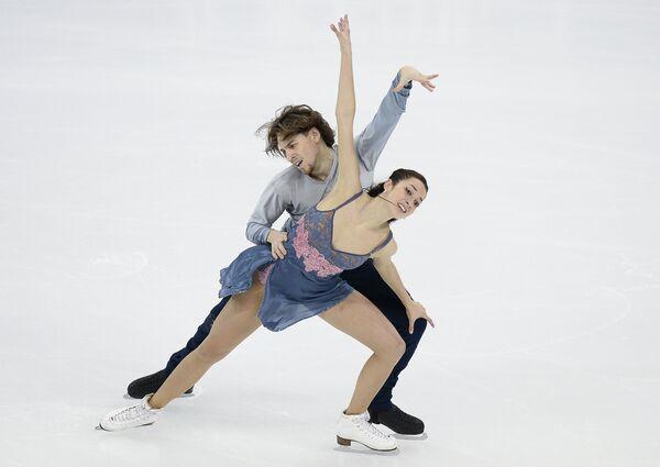 Ксения Монько и Кирилл Халявин (Россия)