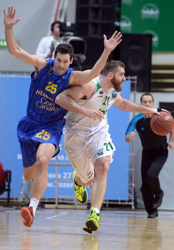 Ян О'Лири (слева) и Костас Каймакоглу