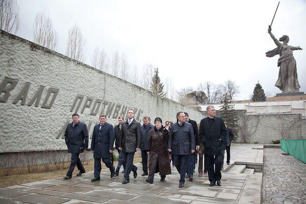Визит Виталия Мутко в Волгоград