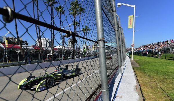 Нельсон Пике-младший на этапе Формулы-Е в США