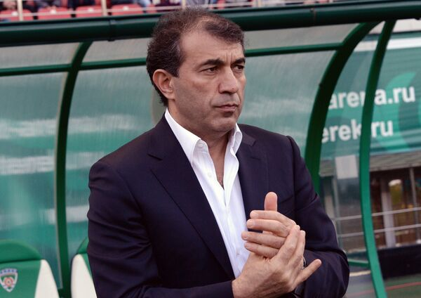 Главный тренер Терека Рашид Рахимов