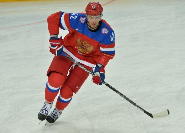 Форвард сборной России по хоккею Артем Анисимов