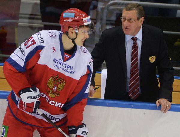 Вадим Шипачев (слева) и Валерий Белоусов