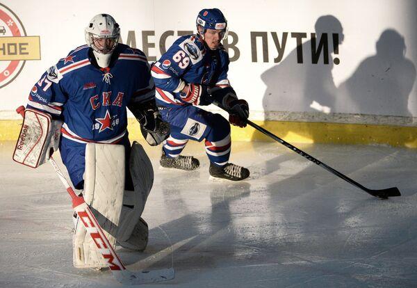 Никита Богданов и Денис Александров (слева направо)
