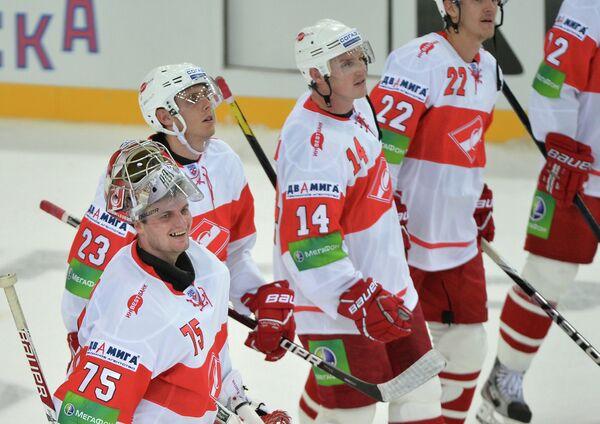 Сергей Борисов, Михаил Мамкин, Штефан Ружичка, Олег Губин (слева направо)