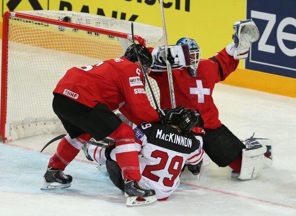 Хоккей. Чемпионат мира - 2015. Матч Швейцария - Канада