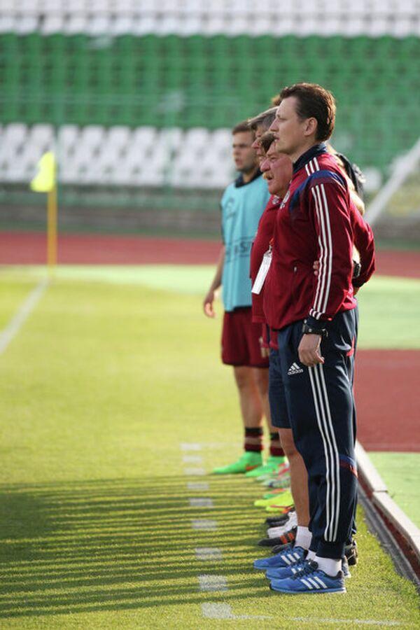 Тренерский штаб юношеской сборной России по футболу
