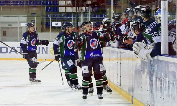 Хоккеисты клуба Кубань