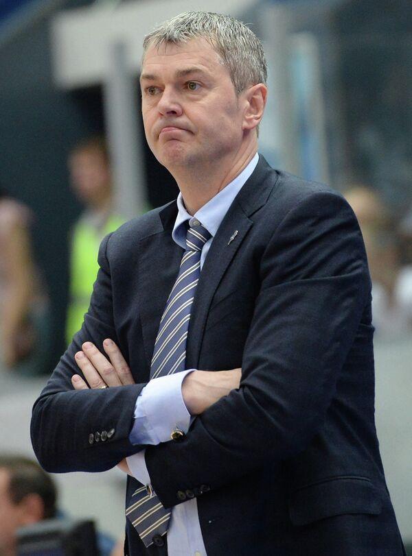 Главный тренер Нижнего Новгорода Айнарс Багатскис