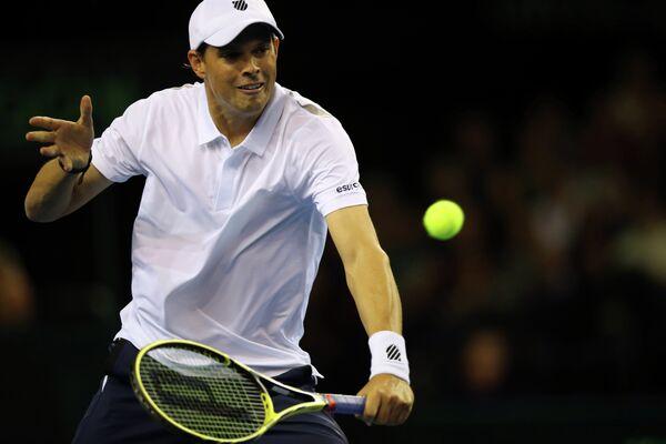 Американский теннисист Майк Брайан