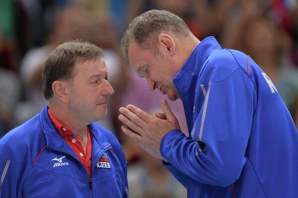 Волейбол. Чемпионат мира. Мужчины. Матч Китай - Россия