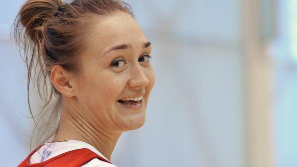 Игрок женской сборной России по баскетболу Анастасия Логунова