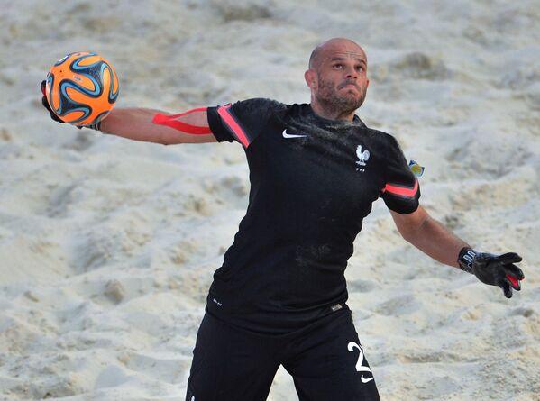 Вратарь сборной Франции Робин Гассэ