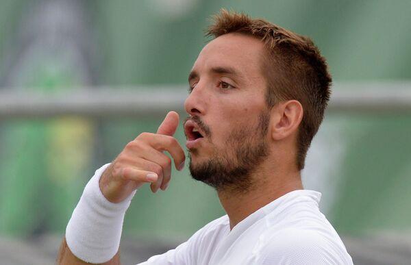 Сербский теннисист Виктор Троицки