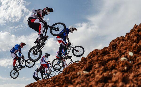 Соревнования по велоспорту в дисциплине BMX среди мужчин на I Европейских играх в Баку