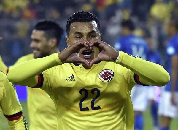 Защитник сборной Колумбии по футболу и миланского Интера Хейсон Мурильо