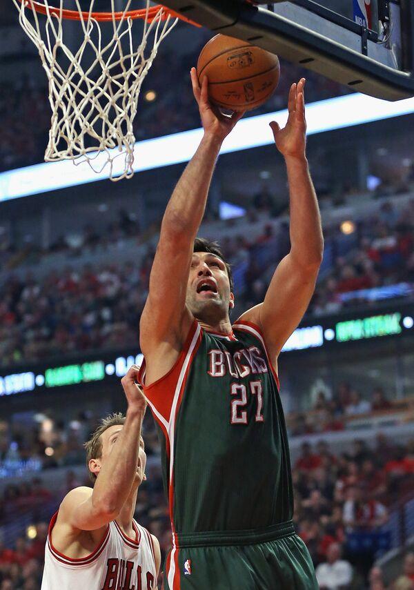 Грузинский баскетболист Заза Пачулия