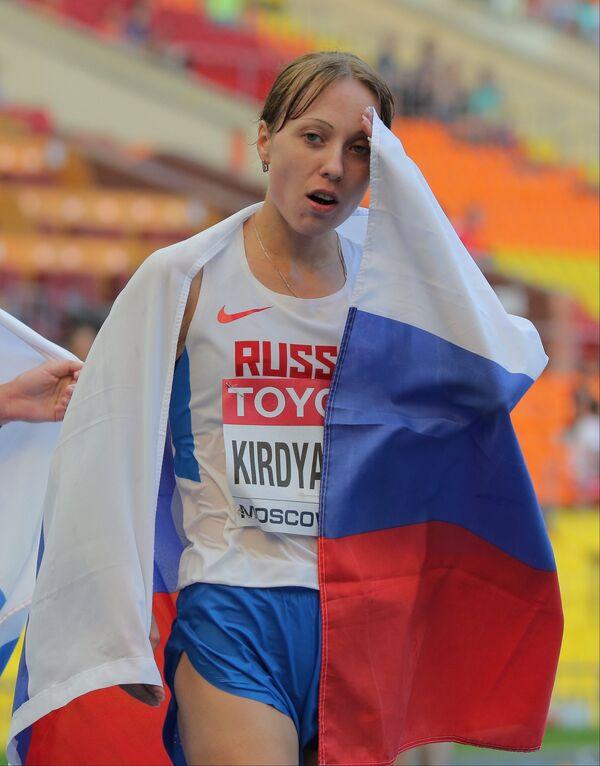 Россиянка Анися Кирдяпкина