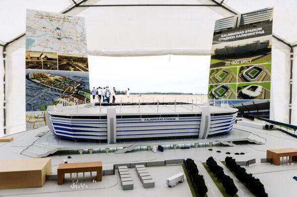 Макет стадиона Арена Балтика