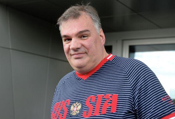 Старший тренер женской сборной России по водному поло Александр Огородников