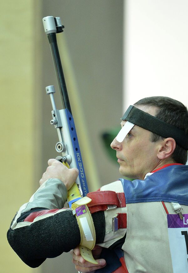 Российский стрелок Сергей Коваленко