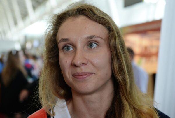 Синхронистка Наталья Ищенко