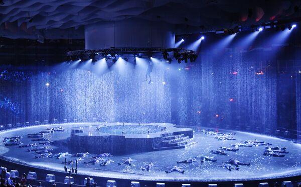 Церемония открытия XVI чемпионата мира по водным видам спорта
