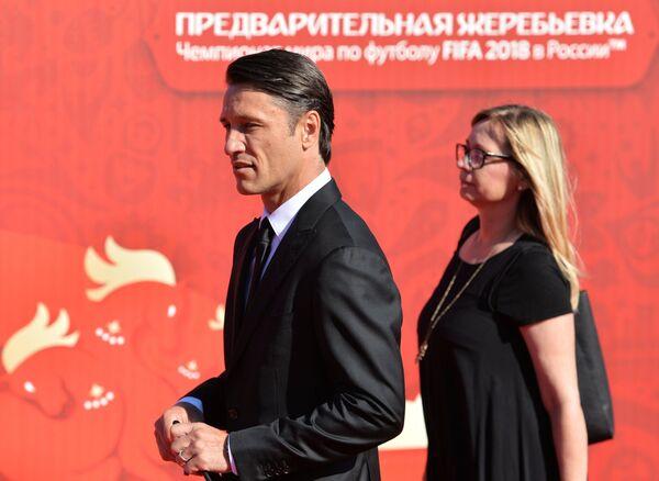 Главный тренер национальной сборной Хорватии Нико Ковач