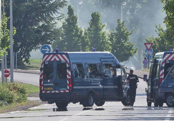 Машины французской полиции