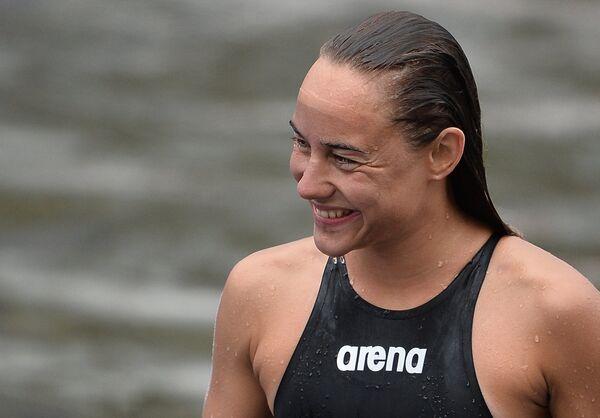 Венгерская пловчиха Анна Олаж