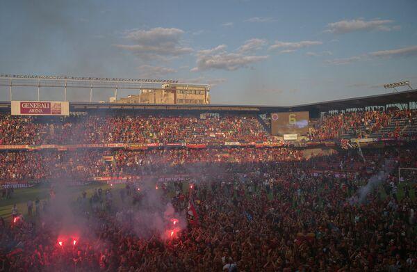 Домашний стадион ФК Спарта (Прага) Дженерали Арена