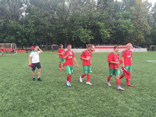 Игроки молодежного состава ФК Локомотив
