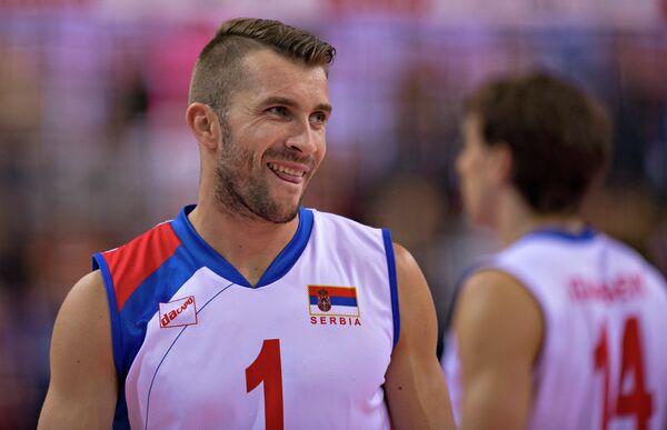 Доигровщик сборной Сербии по волейболу Никола Ковачевич