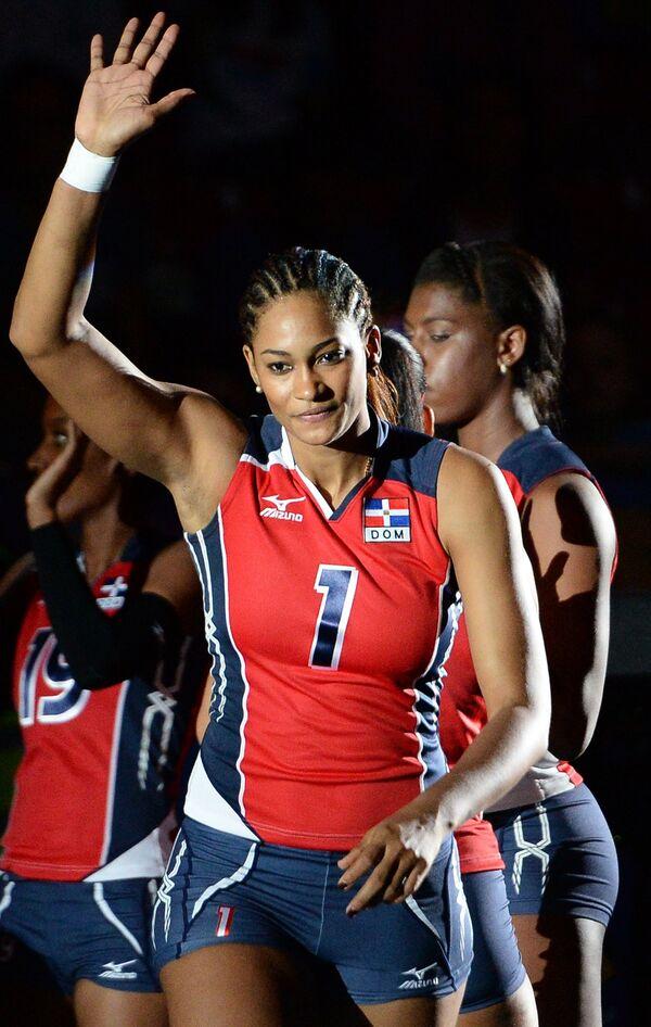 Волейболистки сборной Доминиканской Республики