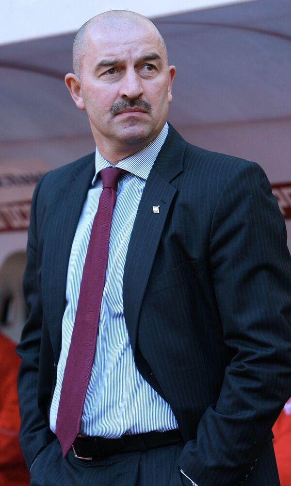 Новый главный тренер московского Спартака Станислав Черчесов, архив/2007 год