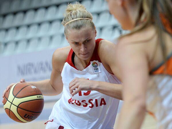 Баскетболистка сборной России Надежда Гришаева